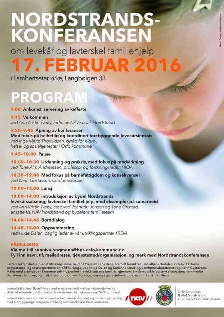 Program Nordstrandskonferansen